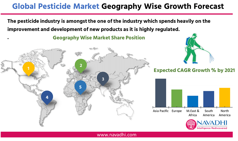 Global Pesticide Market Market by Geography