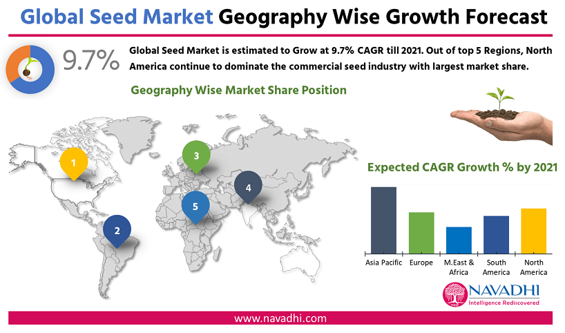 Global Seed Market by Geography